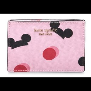 Kate Spade Disney Parks Pink Card Holder